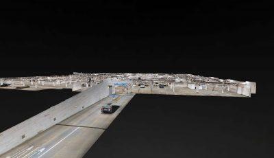 Underground Parking Deck – Hungary 3D Model
