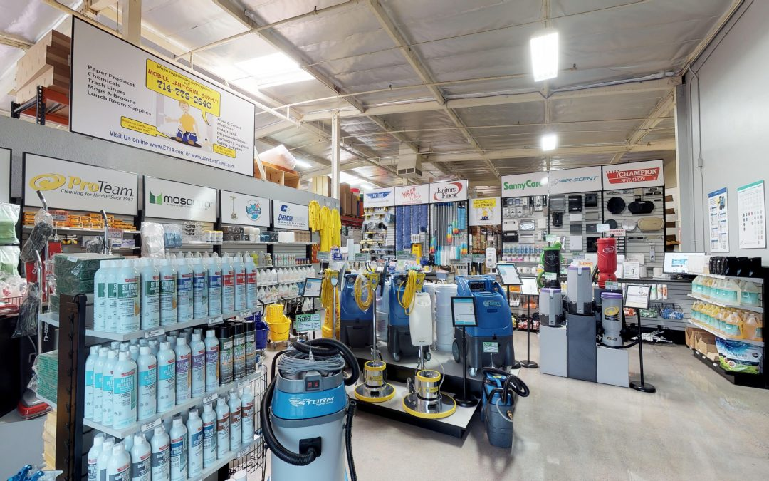 Mobile Janitorial Supply – Showroom Presented by Elevated 4K