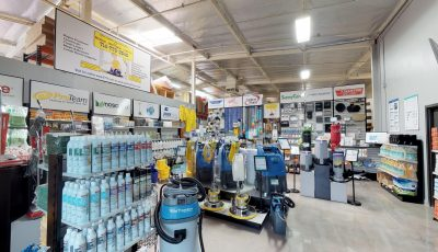 Mobile Janitorial Supply – Showroom Presented by Elevated 4K 3D Model