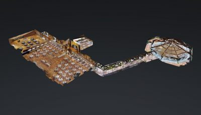 DeLuca's Place In The Park 3D Model